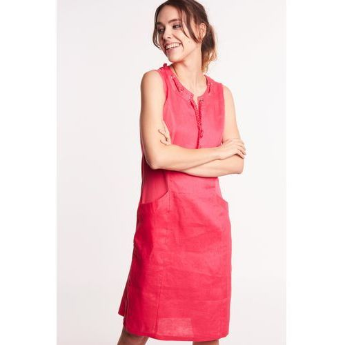f04f907e16 Lniana sukienka bez rękawów marki Lara fabio 239