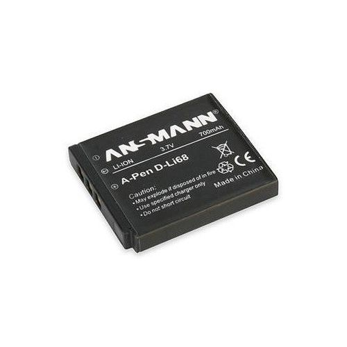 Ansmann Akumulator do pentax a-pen d-li 68 (700 mah)