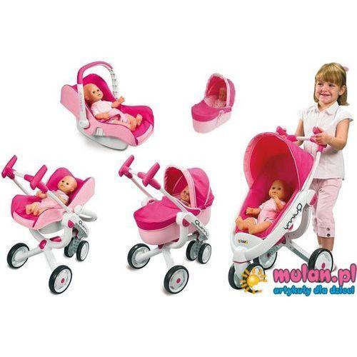 Wózek dla lalki Smoby MAXI COSI Quinny 5w1 Spacerówka Gondola Fotelik kod.550389 - oferta [456eea0c0122f356]