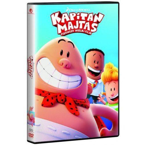 Kapitan Majtas: Pierwszy Wielki Film (Płyta DVD)