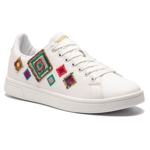 Sneakersy - shoes cosmic exotic diamond 19sskf01 1000 marki Desigual