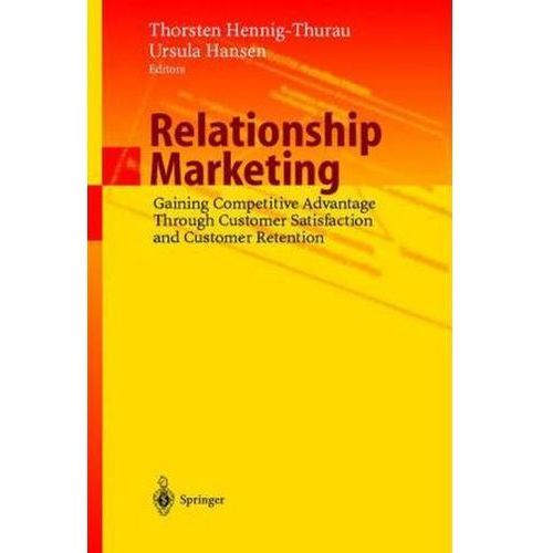 Relationship Marketing, Springer Verlag