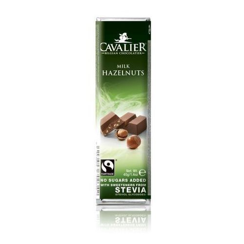 Baton z czekolady mlecznej z orzechami laskowymi