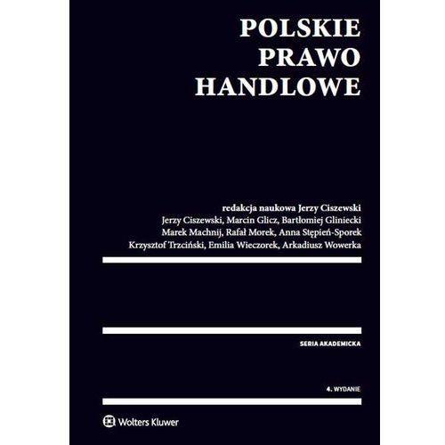Polskie prawo handlowe - Wysyłka od 3,99 - porównuj ceny z wysyłką, oprawa miękka