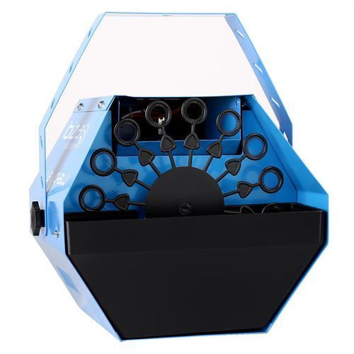 light lbm-10 imprezowa wytwornica baniek mydlanych bubbles niebieska marki Ibiza