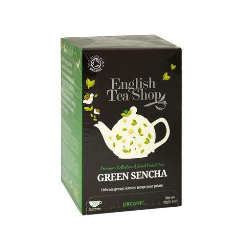 Ets green sencha 20 saszetek marki English tea shop