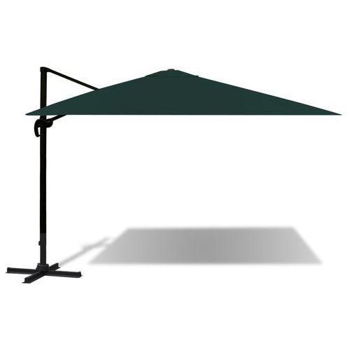 parasol ogrodowy z aluminiowym wspornikiem zielony 3x4 m marki Vidaxl