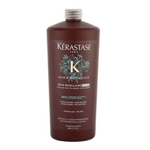 aura botanica micellar riche bain | naturalna kąpiel do włosów suchych 1000ml marki Kerastase