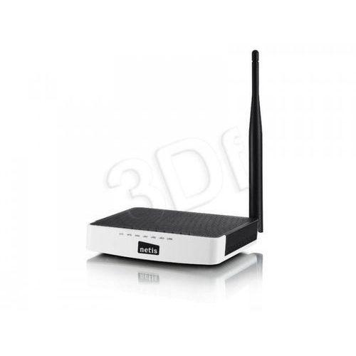 NETIS ROUTER WIFI G/N150 DSL + LANX4 WF2411I, ANTENA 5DBI, IP TV - produkt z kategorii- Routery i modemy ADSL