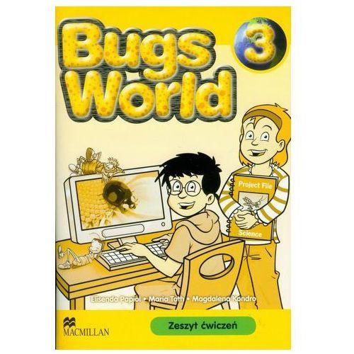 Bugs World 3. Zeszyt ćwiczeń Papiol Elisenda, Toth Maria, Kondro Magdalena (9788360806814)