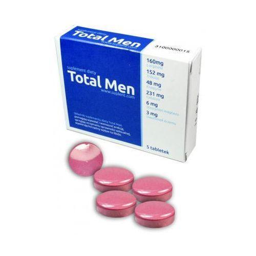 Total Men najmocniejsza formuła na erekcję - 5 tab.