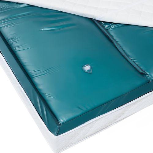 Beliani Materac do łóżka wodnego, dual, 180x200x20cm, mocne tłumienie