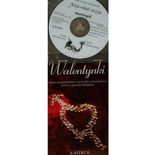 Walentynki. Wpisy do pamiętników i na kartki walentynkowe, wiersze, życzenia, dedykacje +CD, Astrum