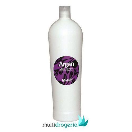 argan colour shampoo 1000ml w szampon do włosów farbowanych marki Kallos