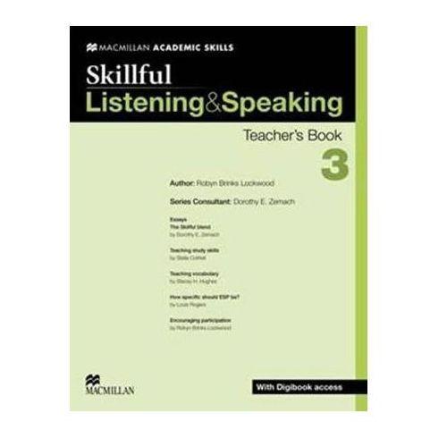 Skillful 3 Listening & Speaking. Książka Nauczyciela + Digibook (9780230430020)