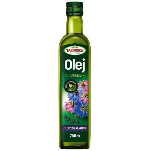 Targroch Olej z czarnuszki tłoczony na zimno, nierafinowany 250ml -