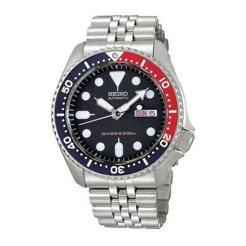 Zegarek niebieski cyferblat nurek's 200m - skx009k2 marki Seiko
