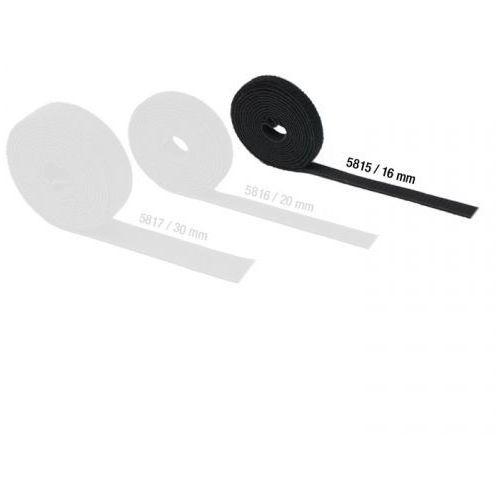 hardware 5815 - taśma rzepowa, dwustronna, szerokość: 16 mm marki Adam hall