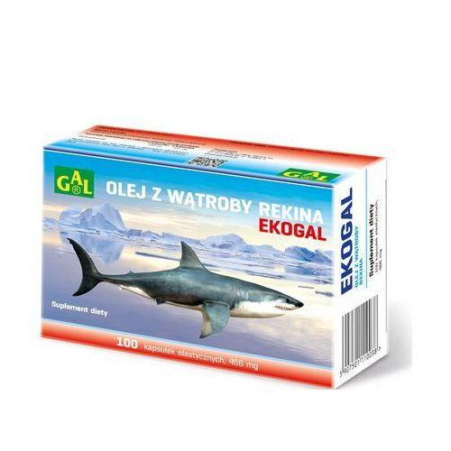 Ekogal Olej z rekina grenlandzkiego 60 kaps. (5907501110168)