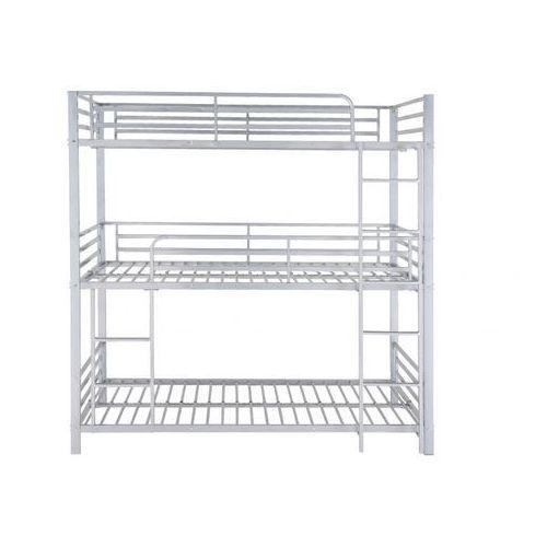 Łóżko piętrowe elouan - 3 × 90 × 190 cm - szary marki Vente-unique