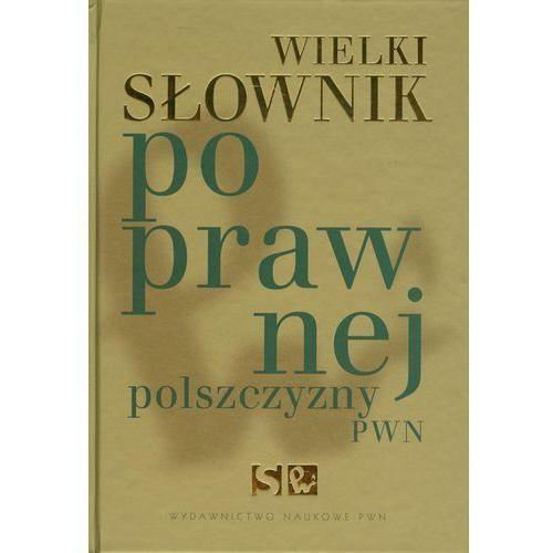 Wielki słownik poprawnej polszczyzny PWN z płytą CD (2005)