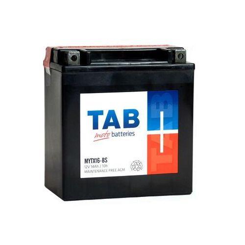 Akumulator motocyklowy ytx16-bs (mytx16-bs) 12v 14ah 230a l+ marki Tab