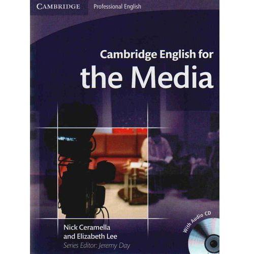 Cambridge English For The Media + Cd (112 str.)