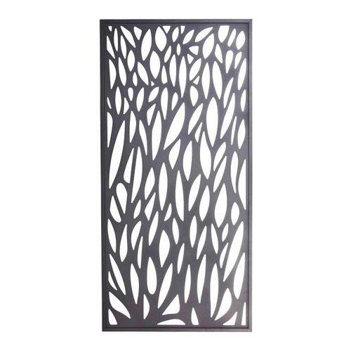 Blooma Moduł dekoracyjny neva aluminiowy 88 x 179 cm szary