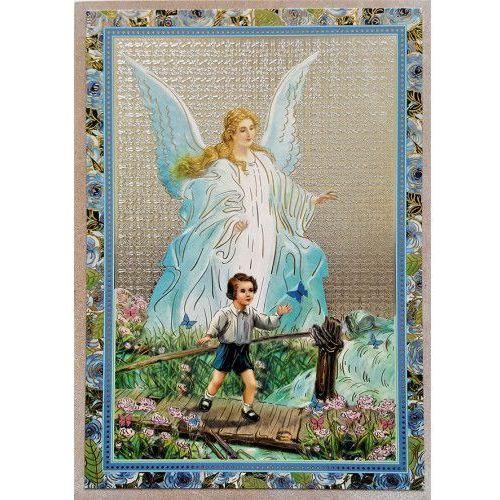 Produkt polski Ikona anioł stróż - dla chłopca