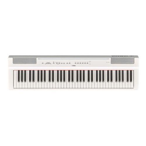 Yamaha p 121 wh pianino cyfrowe stage piano (białe)