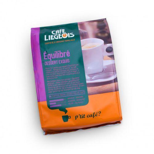 """Café liégeois Kawa w saszetkach """"Équilibré"""", 36 szt. (5411651090251)"""