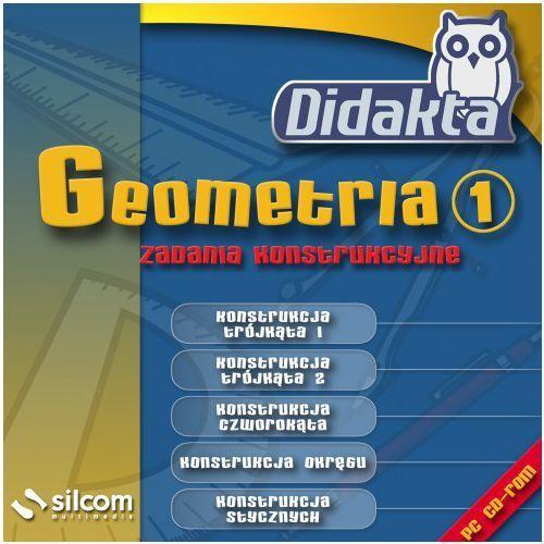 Didakta - Geometria 1 - Zadania konstrukcyjne - 20 PC