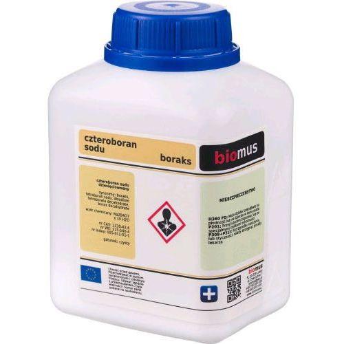 - boraks, czteroboran sodu, czysty 99,9% 0,5kg marki Biomus