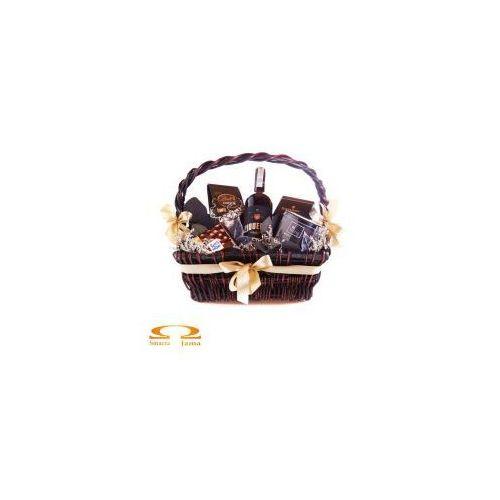 Kosz Delikatesowy Trzy Kolory: Brązowy