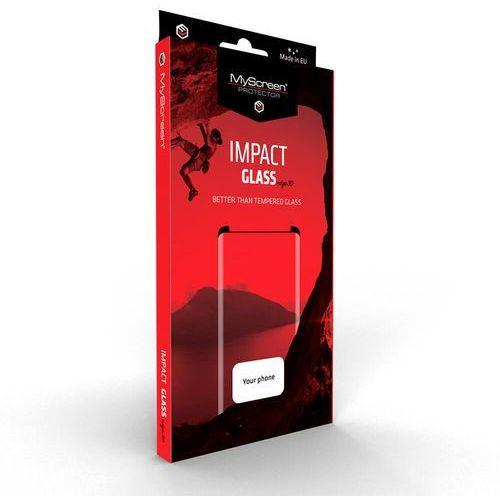 impactglass edge3d iphone 7/8 (czarny) marki Myscreen protector