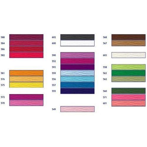 Krepina włoska krepa 50x250 Dużo kolorów