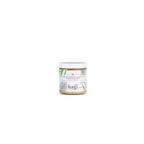 naturalny scrub do dłoni i stóp z roślinną lanoliną naturalny scrub do dłoni i stóp z roślinną lanoliną marki Hagi