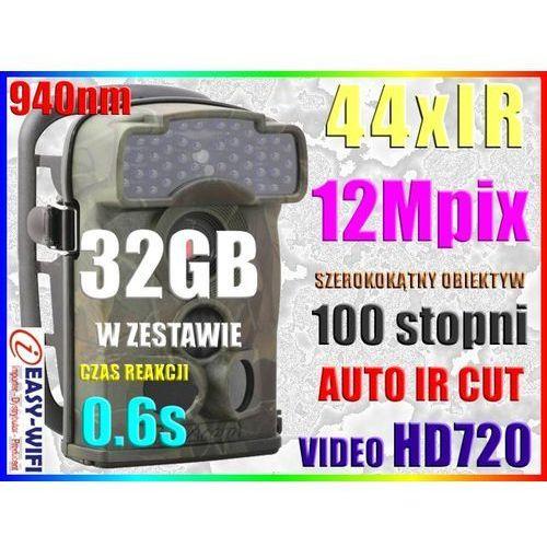 KAMERA LEŚNA MYŚLIWSKA MONITORING 24h HD720 +32GB - sprawdź w Sklep Szpiegowski