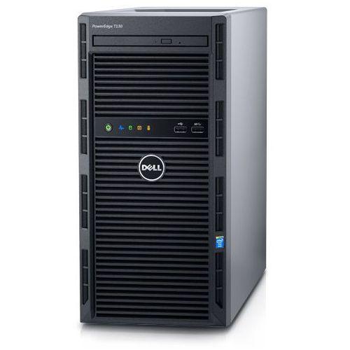 Serwer poweredge t130 w obudowie typu tower marki Dell