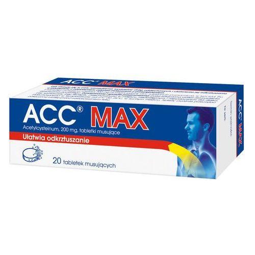 ACC, tabletki musujące, 200 mg, 20 sztuk - sprawdź w wybranym sklepie