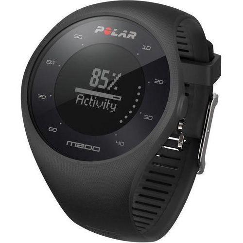 Polar M200 - zegarek sportowy z GPS i pomiarem tętna (czarny)