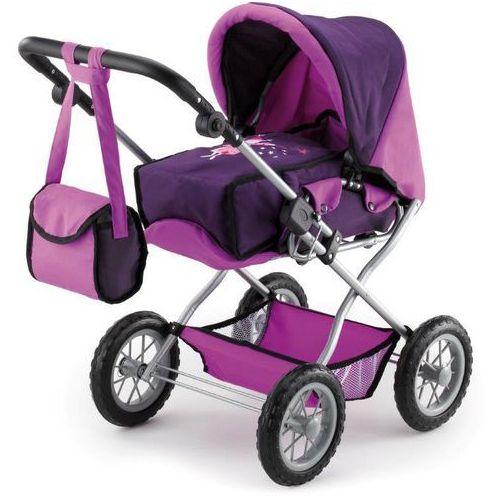 Bayer Design Wózek dla lalek Kombi Grande, fioletowy - produkt z kategorii- wózki dla lalek