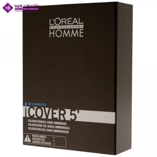Loreal homme cover 5 żel do koloryzacji włosów dla mężczyzn nr 7 blond 3x50ml (3474634006504)