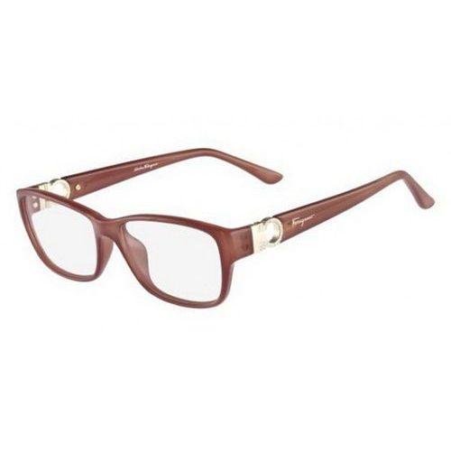 Okulary korekcyjne sf 2666r 643 marki Salvatore ferragamo