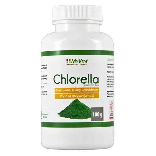 Chlorella 100g - bez wypełniaczy, PRONESS