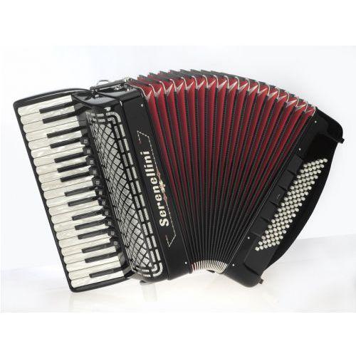 Serenellini 374 37/4/11 96/5/5 piccolo akordeon (czarny)