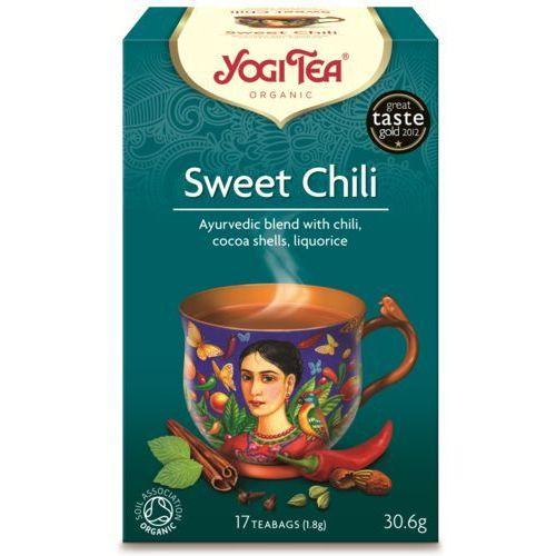 Herbata Słodkie chili BIO (Yogi Tea) 17 saszetek po 1,8g (4012824400290)