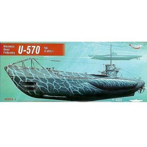 """Mirage hobby Okręt podwodny """"u-570"""" (5901461404114)"""
