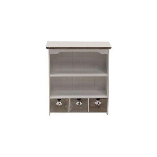 Biała szafka wisząca Louise Gray 1, Enzo Design z Seart - Meble z Drewna