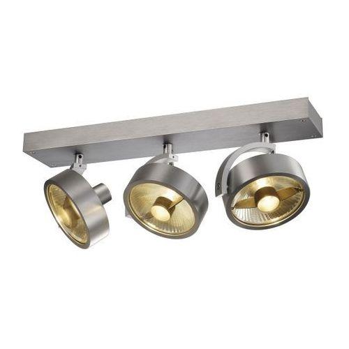 Reflektorek potrójny kalu 3 qpar aluminium szczotkowane, 147326 marki Spotline